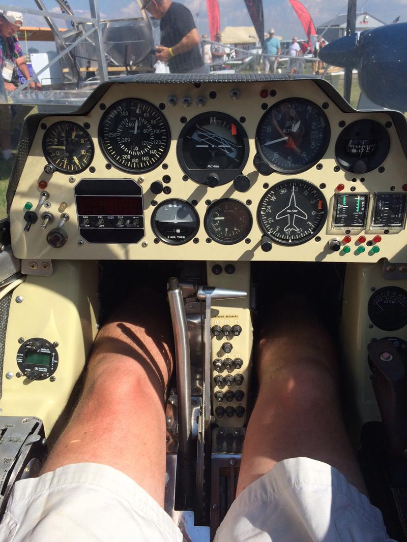 BD-5J Cockpit