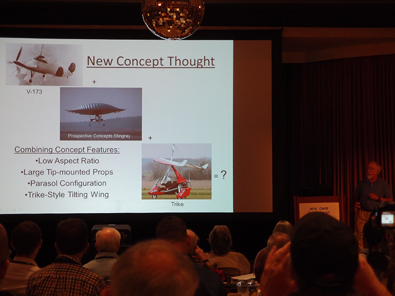 Barnaby Wainfan shows inspirations for possible future configurations of efficient STOL aircraft.