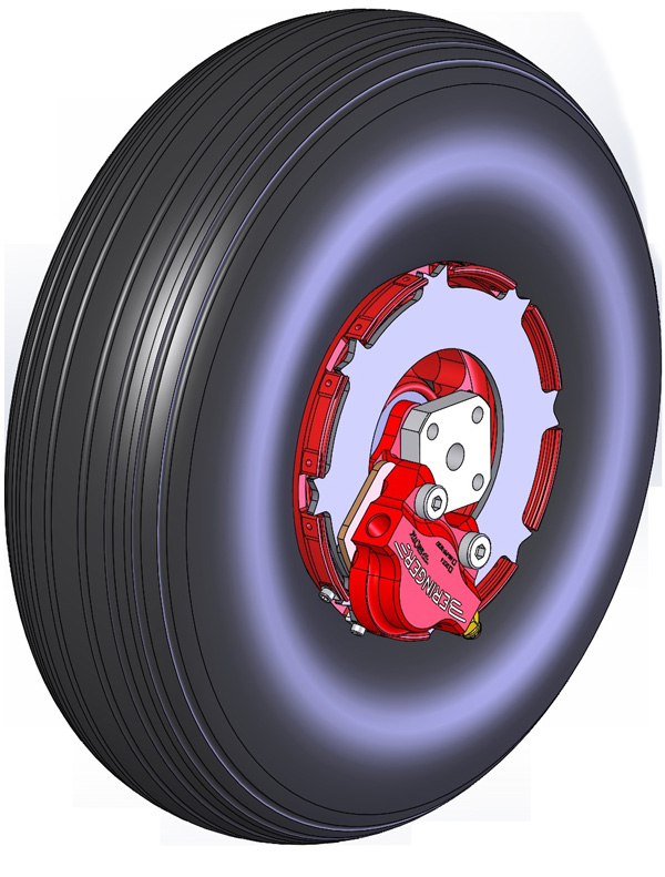 Beringer-wheel-4-inch-with-brake-and-tire