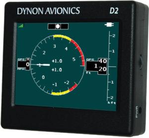G-meter display on the D2 Pocket Panel