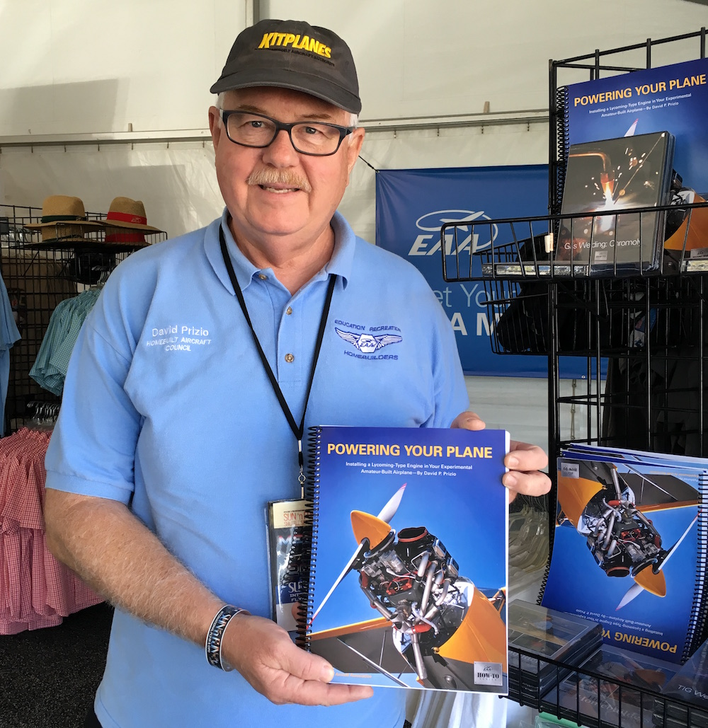Dave Prizio Book Powering your plane
