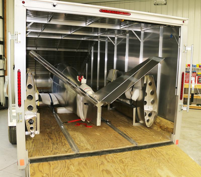 SubSonex Jet kit loaded in trailer