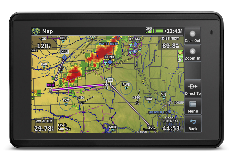 Weather reroute