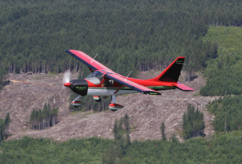 Glasair_Sportsman-Diesel-in-flight-2