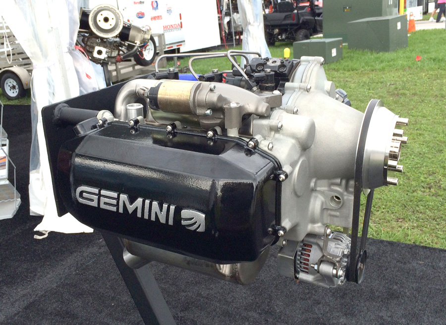 Superior Gemini Diesel engine