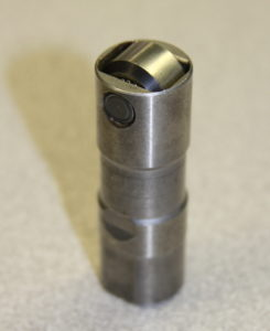 Lycoming's Roller Tappet doesn't slide on the Cam lobe – the roller moves over it.