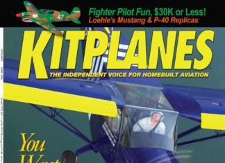 Kitplanes April 2006 cover