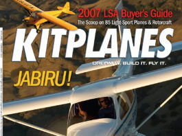 Kitplanes February 2007 cover