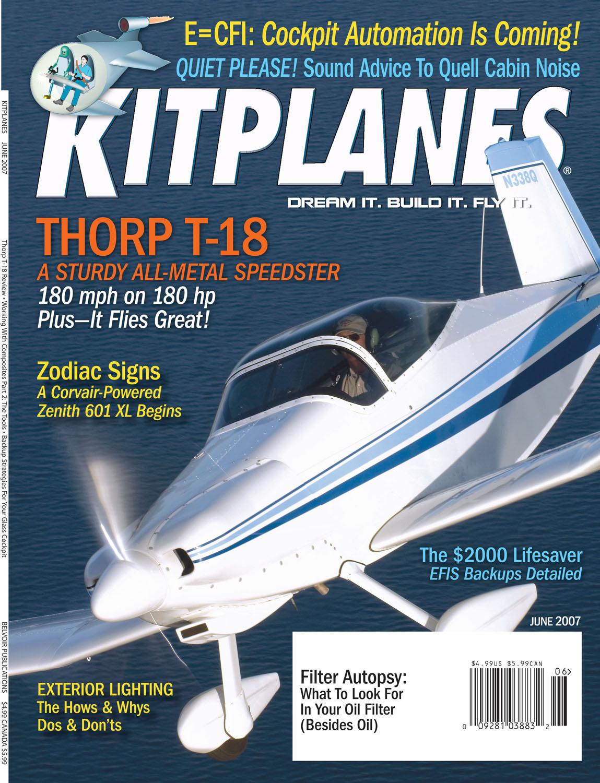 Kitplanes Cover Page