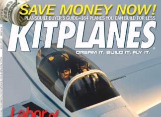 Kitplanes January 2008 cover