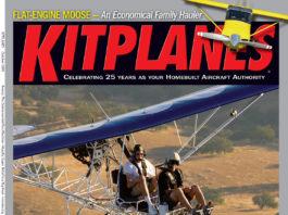 Kitplanes October 2009 cover