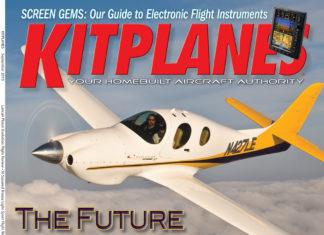 Kitplanes September 2010 cover