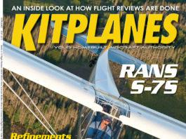 Kitplanes July 2012 cover