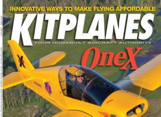 Kitplanes June 2013 cover