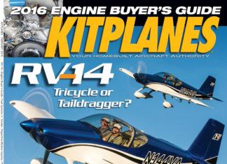 Kitplanes February 2016 cover