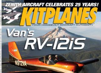Kitplanes November 2017 cover