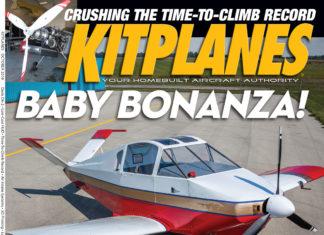 Kitplanes October 2018 cover