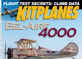 Kitplanes November 2018 cover