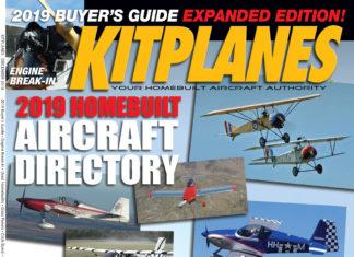 Kitplanes December 2018 cover