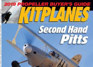 Kitplanes January 2019 cover