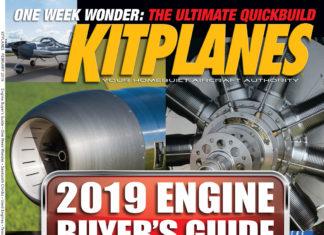 Kitplanes February 2019 cover