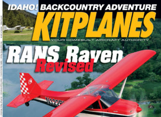 Kitplanes March 2019 cover