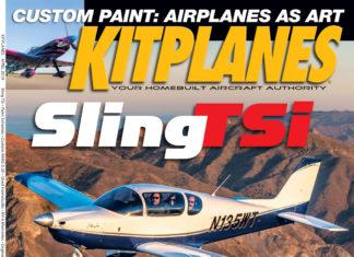 Kitplanes April 2019 cover