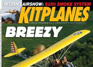 Kitplanes July 2019 cover