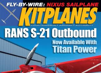 Kitplanes August 2019 cover