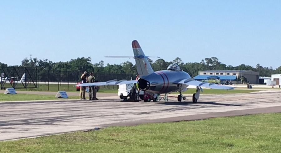 MiG 17 at Sun 'n Fun.