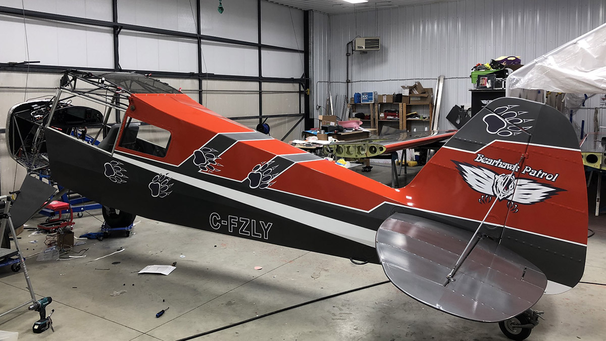 Mike Silvernagle's Bearhawk Patrol project.