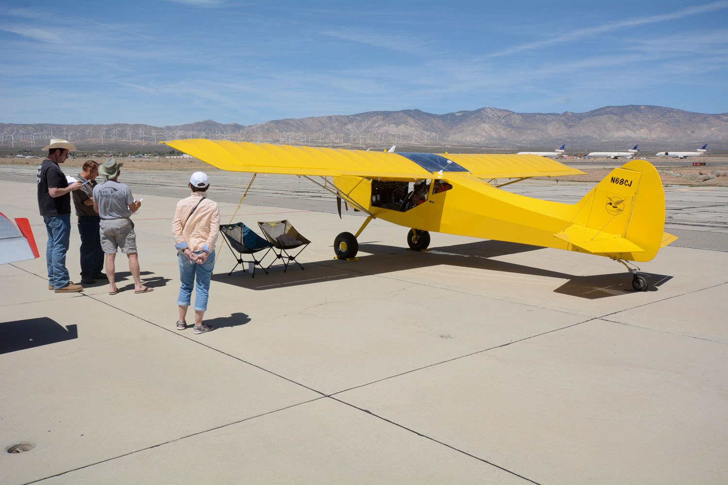John and Carolyn Spratt's Rans S-20X Raven was a real eye-catcher on the Mojave ramp. Powered by a turboed Rotax 914 for good high-country adventures, the machine positively drips with attention to detail.