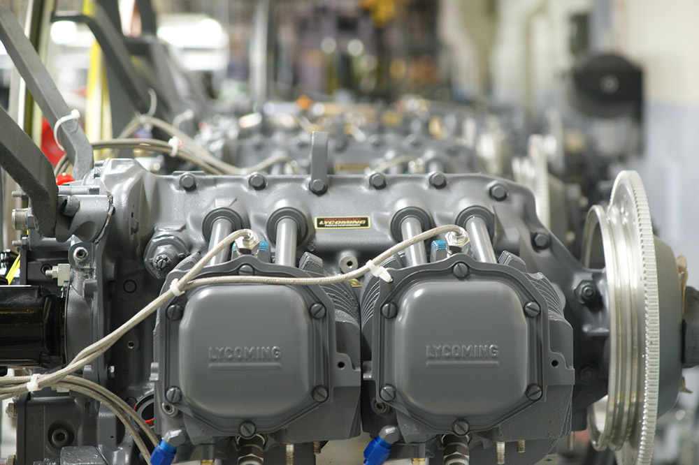 New Lycoming engines awaiting testing