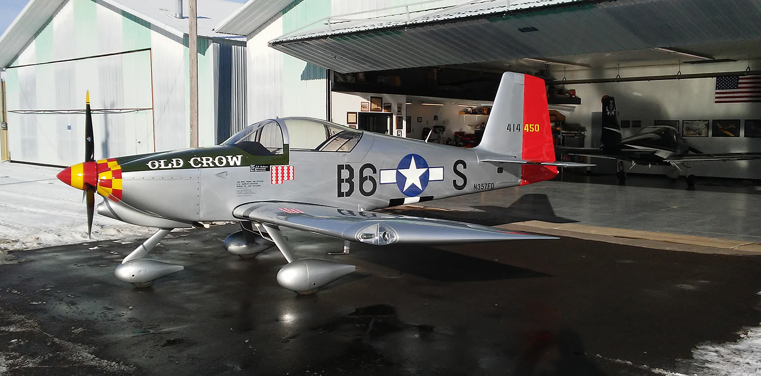 Old Crow Huber RV-7A