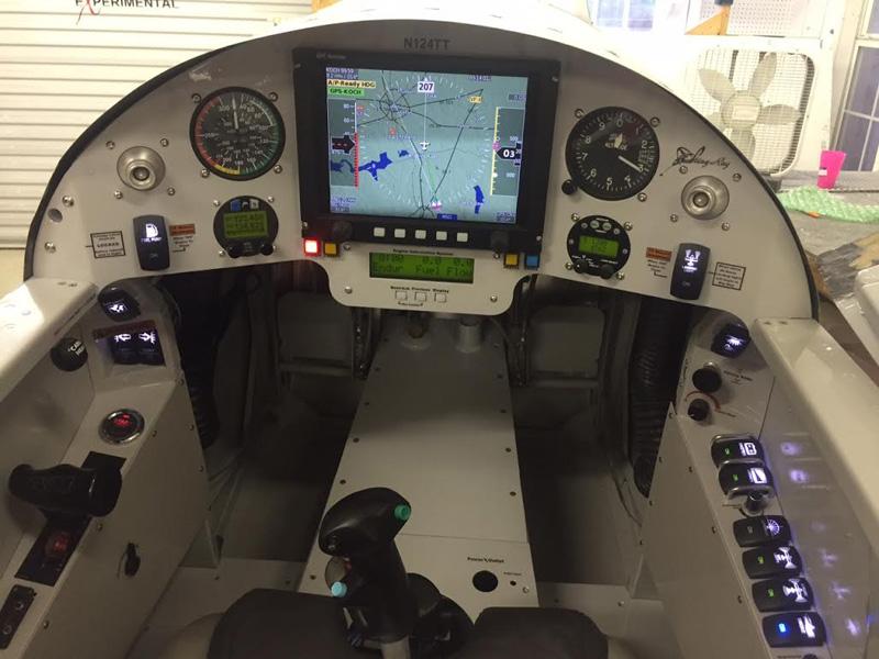RV-4 Stingray panel