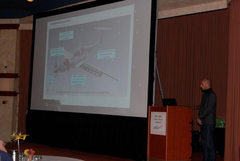 Dr. Veble discusses major components of Pipistrel Panthera, now under development.