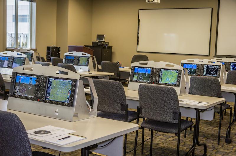 Garmin Pilot Training Room