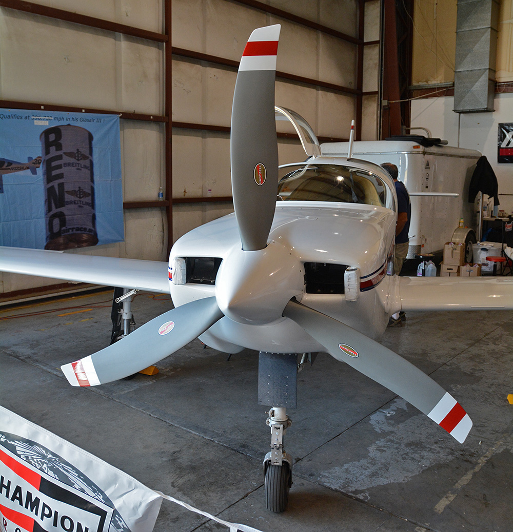 Hartzell's race prop on Jeff LaVelle's Glasair