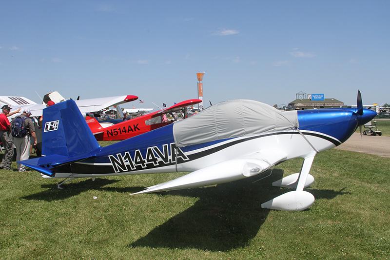First tailwheel model RV-14