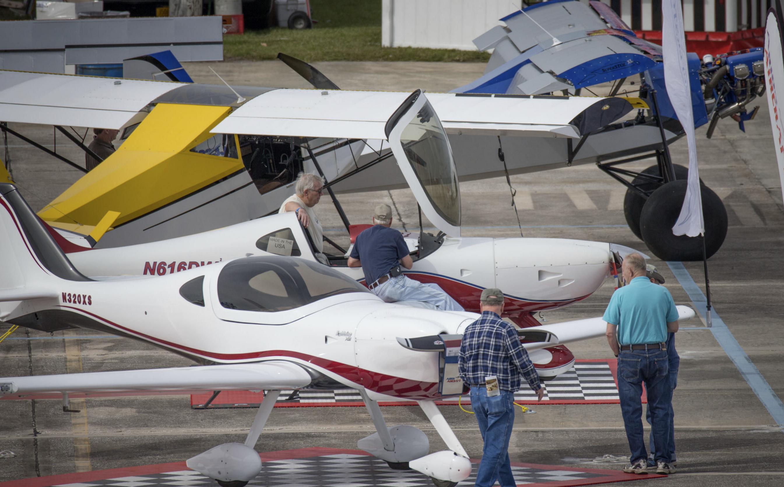 Sebring 2016. Photo credit: Sebring Aviation Expo (http://www.sportaviationexpo.com/)