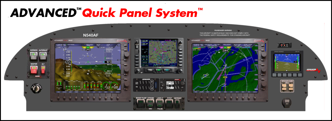 Skyview The Advanced Flight Systems Quick Panel System