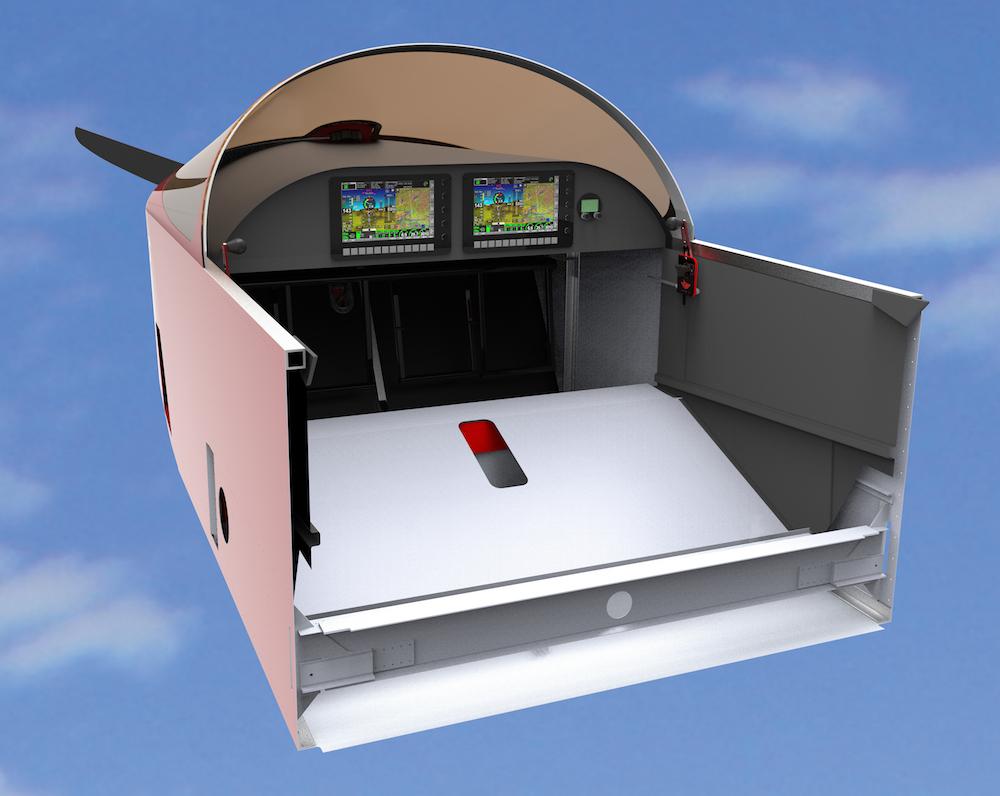 Sonex fuselage rendering.