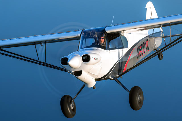 CubCrafters X-Cub in flight