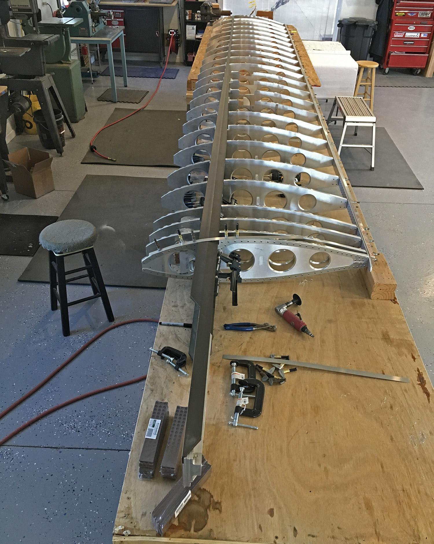 Xenos-Motorglider-wing-ribs
