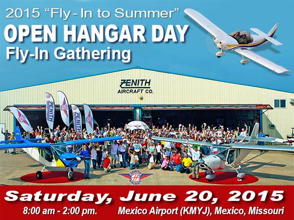 Zenith 2015 Open Hangar Day