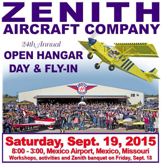 Zenith Open Hangar Day 2015