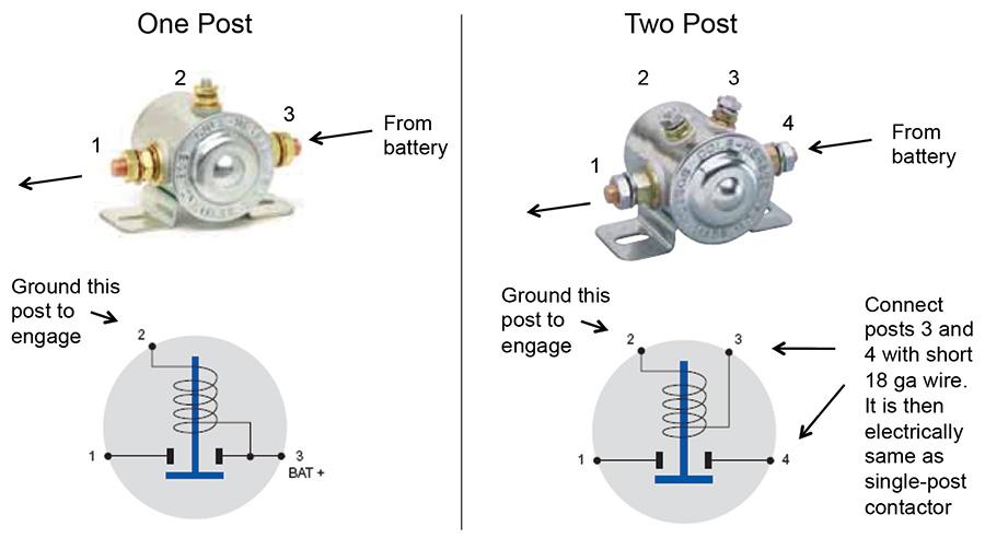 [GJFJ_338]  Aircraft Wiring | Four Pole Solenoid Wiring Diagram |  | Kitplanes