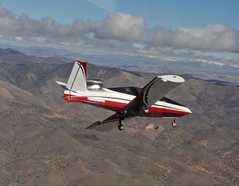Subsonex Jet in flight