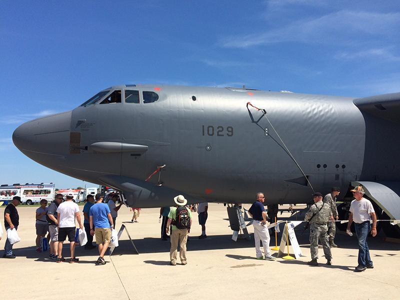B-52 at Oshkosh 2015