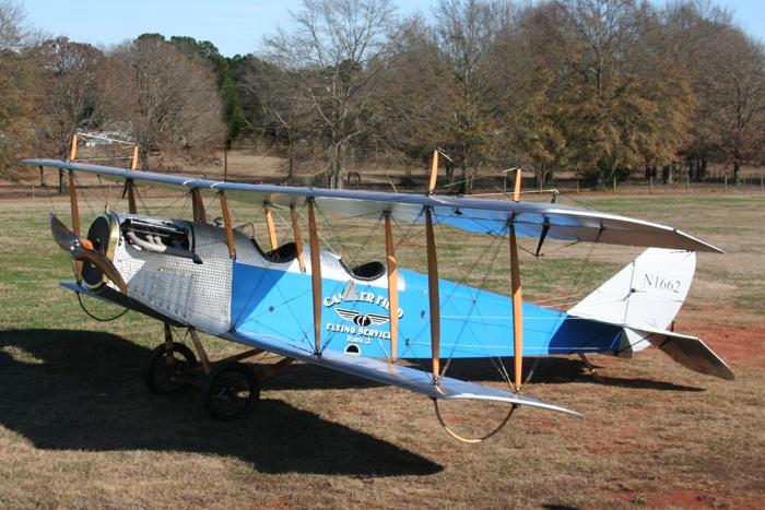 Ron Alexander's restored 1917 JN-4 Jenny. (Photo: Barbara Kitchens)